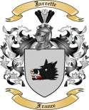 Jarrette Family Coat of Arms from France