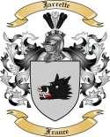 Jarrette Family Crest from France