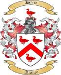 Jarrie Family Coat of Arms from France2