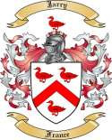 Jarry Family Crest from France2