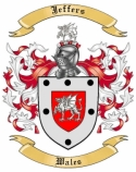 Jeffers Family Coat of Arms from Wales