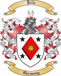 Jelle Family Crest from Germany