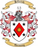 Jellerich Family Crest from Germany
