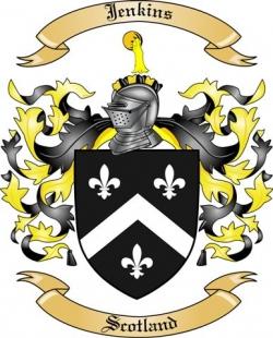 Jenkins Coat Of Arms Rings