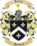 Jenkyn Family Crest from Scotland