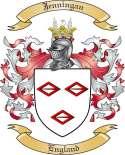 Jenningan Family Coat of Arms from England