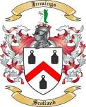 Jennings Family Coat of Arms from Scotland