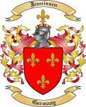 Jennissen Family Crest from Germany
