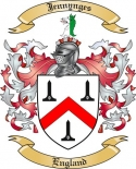 Jennynges Family Crest from England