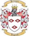 Jernegan Family Crest from England