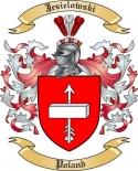 Jesielowski Family Crest from Poland
