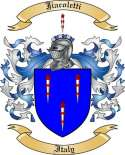 Jiacoletti Family Crest from Italy