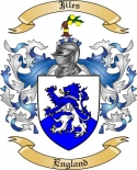 Jiles Family Crest from England3