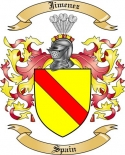 Jimenez Family Coat of Arms from Spain