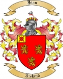 Joan Family Crest from Ireland