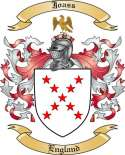 Joass Family Crest from England