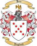 Joce Family Crest from England