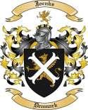 Joenks Family Crest from Denmark
