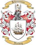 Johanessen Family Crest from Norway