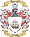 Johansdtr Family Coat of Arms from Norway