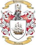 Johansen Family Coat of Arms from Norway