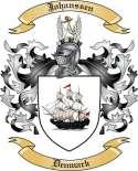 Johanssen Family Coat of Arms from Denmark