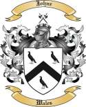 Johne Family Crest from Wales