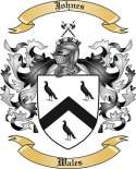 Johnes Family Crest from Wales