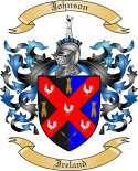 Johnson Family Coat of Arms from Ireland