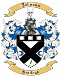 Johnson Family Coat of Arms from Scotland