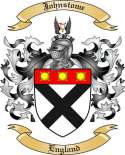 Johnstome Family Coat of Arms from England2