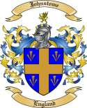 Johnstome Family Coat of Arms from England