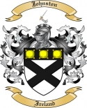 Johnston Family Coat of Arms from Ireland