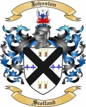 Johnston Family Coat of Arms from Scotland