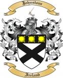 Johnstone Family Crest from Ireland