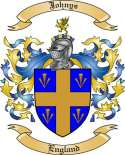 Johnys Family Coat of Arms from England