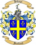 Johnys Family Coat of Arms from Scotland