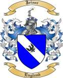 Joiner Family Crest from England