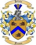 Jolain Family Crest from France