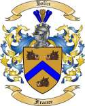 Jolin Family Coat of Arms from France