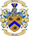 Jollain Family Coat of Arms from France