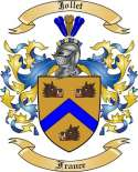 Jollet Family Crest from France