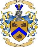 Jollin Family Crest from France