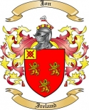 Jon Family Crest from Ireland
