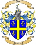 Jon Family Crest from Scotland