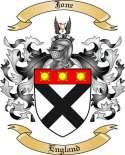 Jone Family Crest from England3