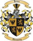 Jonec Family Crest from Germany