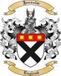 Jonsolm Family Coat of Arms from England2