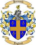 Jonsomb Family Crest from England