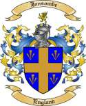 Jonsombe Family Crest from England